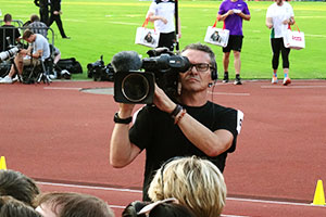 Видеосъемка грандиозного спортивного мероприятия